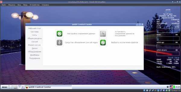 Antix linux rus  Непростой выбор дистрибутива Linux для